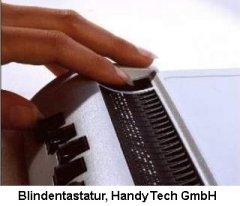 Blindentastatur
